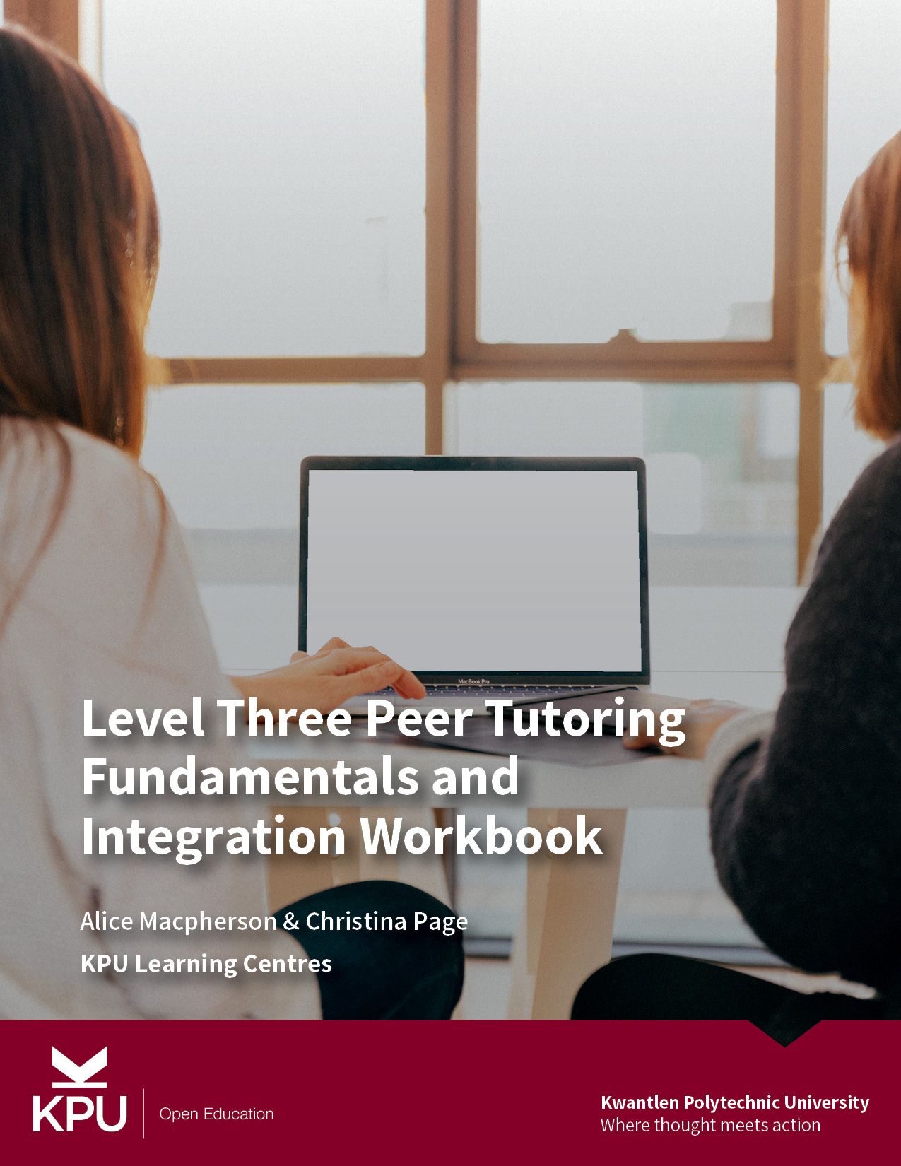 Cover image for Level Three Peer Tutoring Fundamentals and Integration Workbook