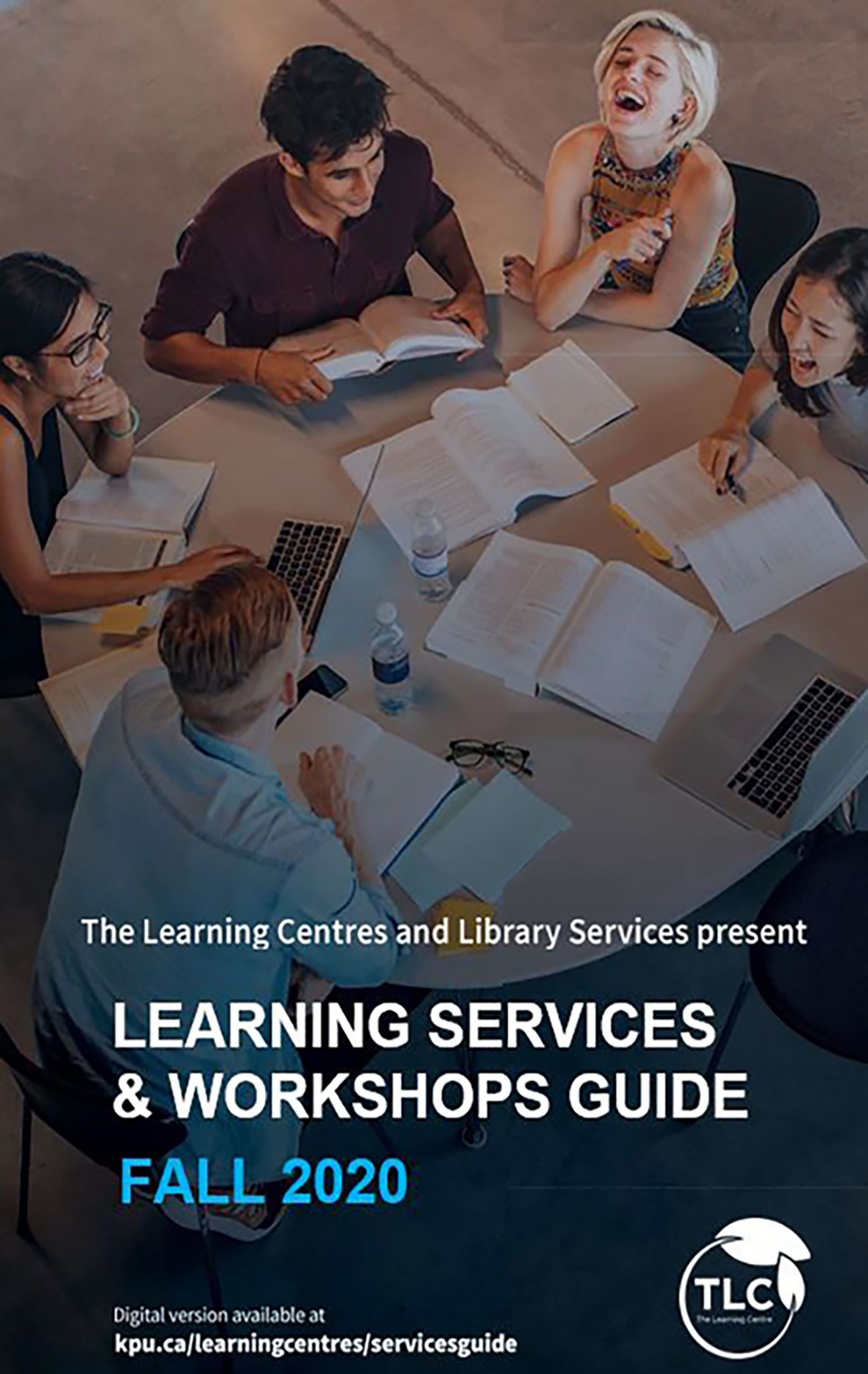 Cover image for Learning Services and Workshop Guide Fall 2020