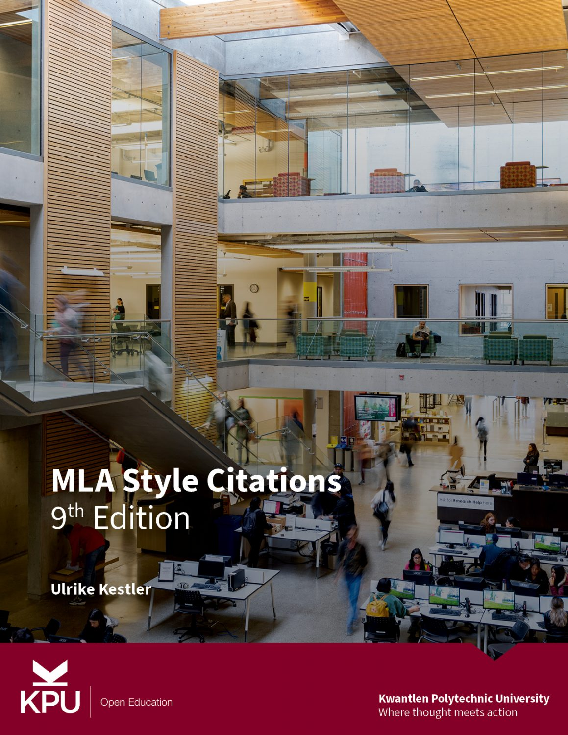Cover image for MLA Style Citations