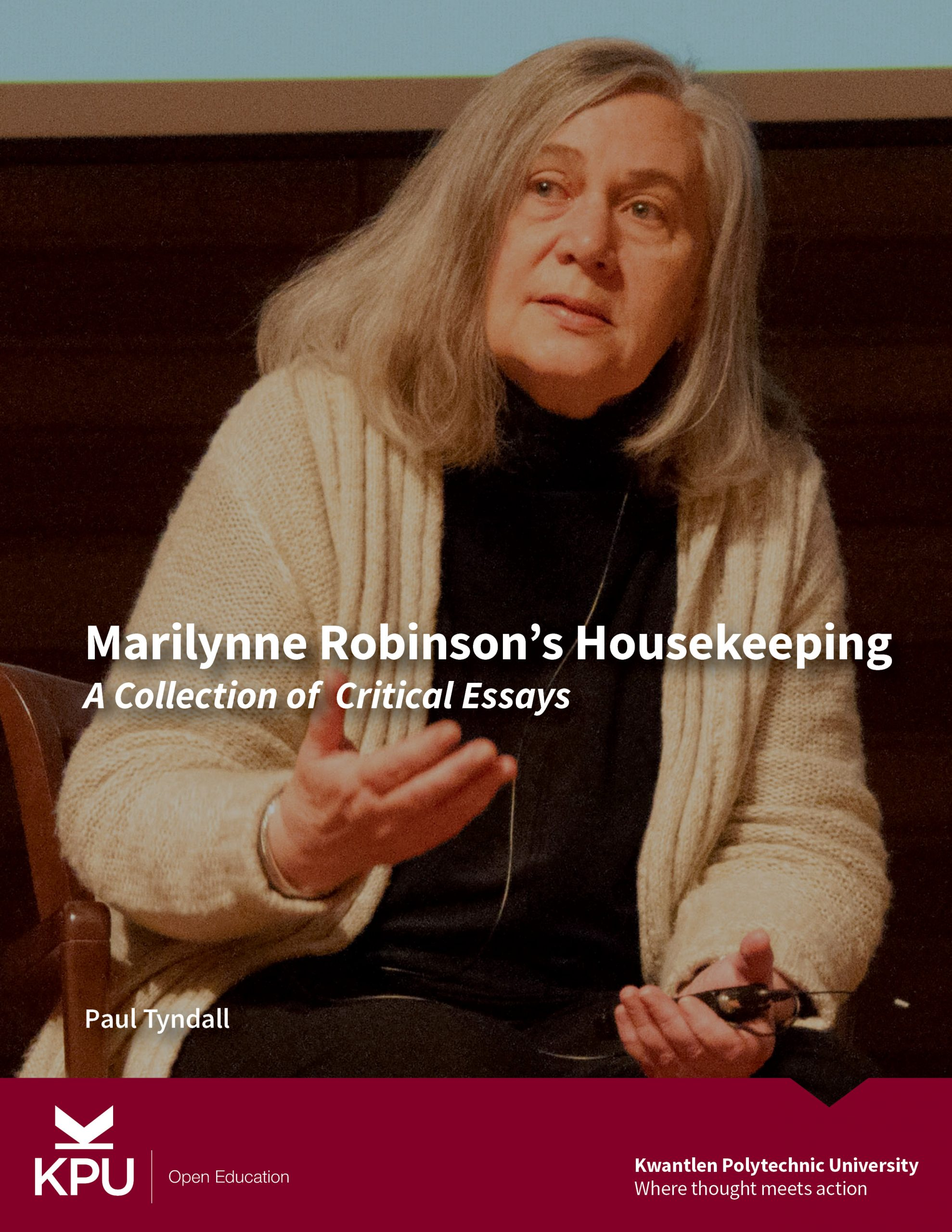 Cover image for Marilynne Robinson's Housekeeping: A Collection of Critical Essays