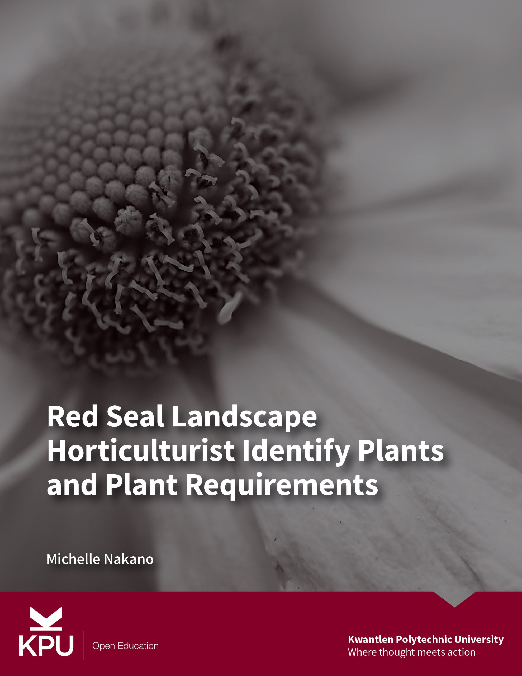 Cover image for Red Seal Landscape Horticulturist Identify Plants and Plant Requirements (F2 - 1&2)