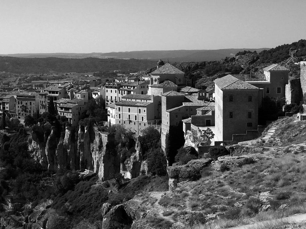 City landscape of Cuenca Spain