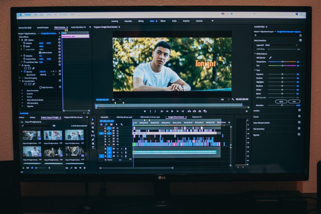 A video editing program screenshot