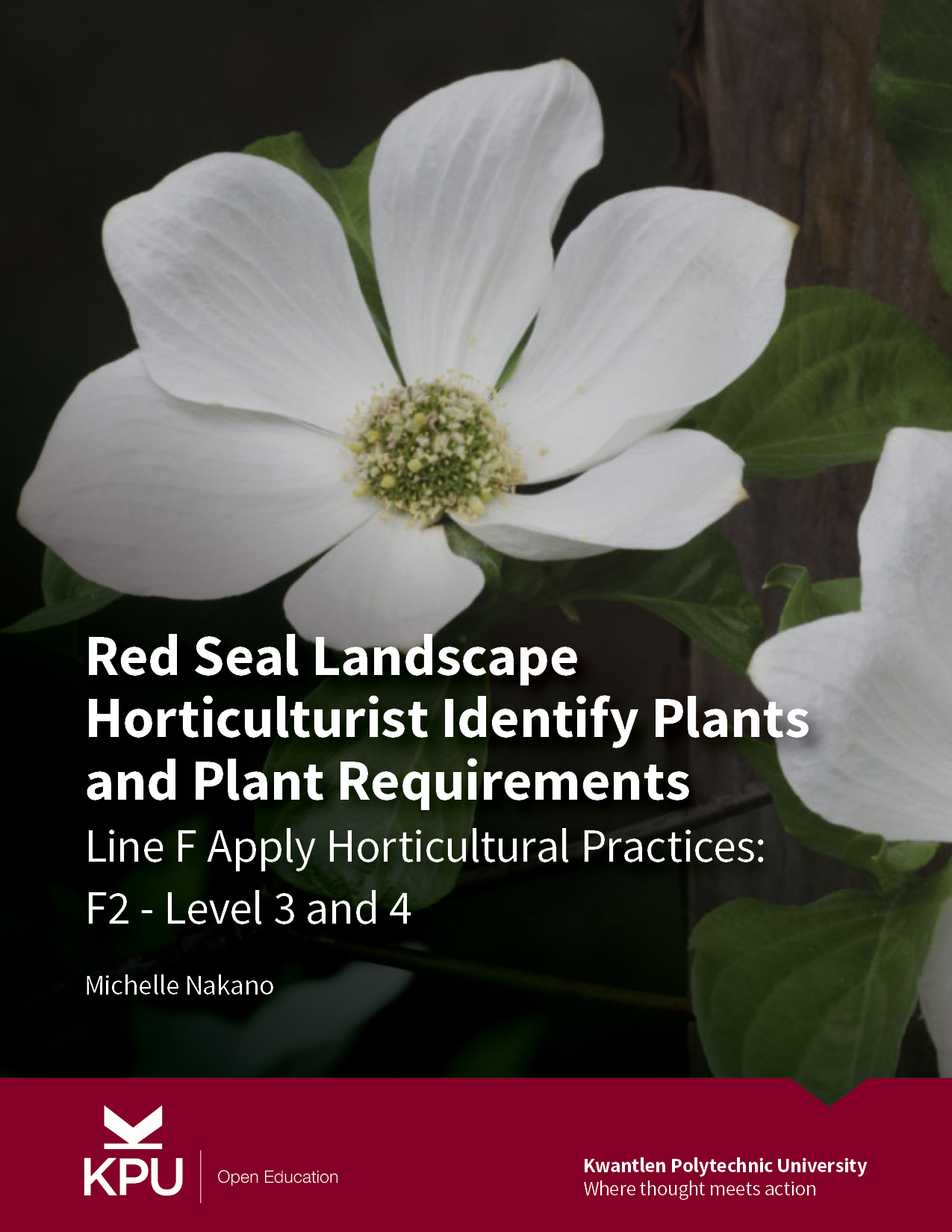 Cover image for Red Seal Landscape Horticulturist Identify Plants and Plant Requirements (F2 - 3&4)